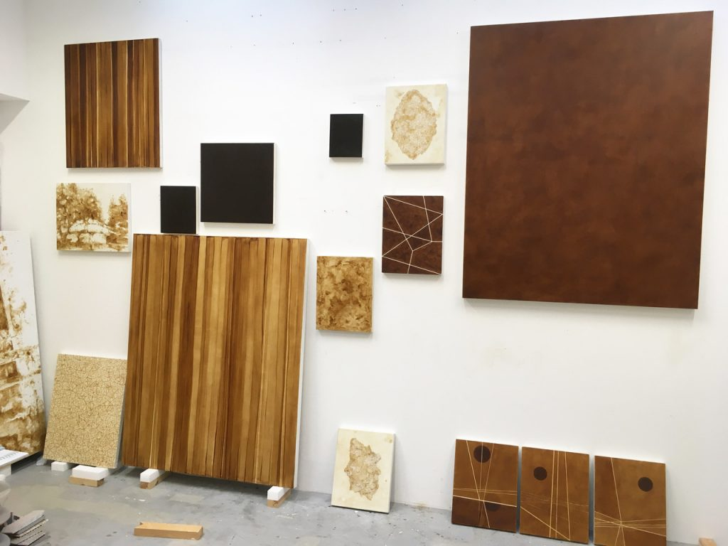 Studio - Hash paintings