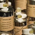 Saso Sedlacek AcDcWC-Merda d'artista, 2010 Aluminium cans with air fresheners, 14x20cm Edition 40